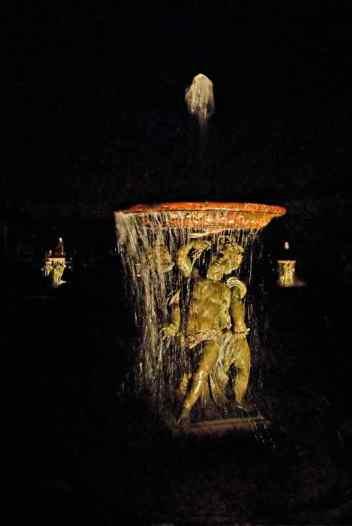 0021 Marmousets de l'Allée d'eau nocturne _ Versailles _ Jacques-de-Givry