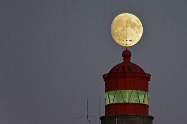 Pleine lune à Goulphar